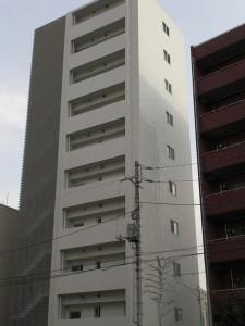 外壁タイル工事 デュフレ下落合(新宿区)