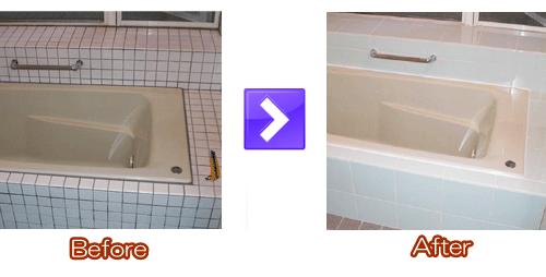 浴室タイル施工