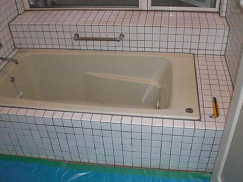 【1】施工前の状態① ~ 浴槽周り